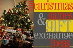 Christmas Games & Gift Exchange Ideas –