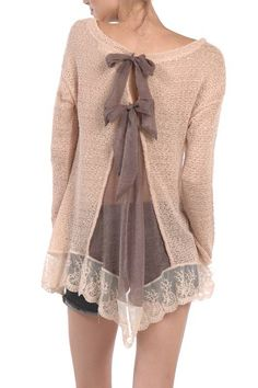 NWT A'reve Ryu Boho Mod cloth Vintage Retro Keep Me Cozy Top Peach Size Sm-Large