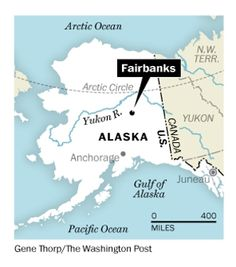 The area in which Alex existed during his Great ALaskan Odyssey Surrounded by serenity in frozen Fairbanks, Alaska - The Washington Post