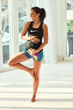 Trening - przykładowe ćwiczenia w I trymestrze ciąży - healthy plan by ann