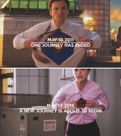 """""""One journey has ended, a new journey is about to begin."""" #dc"""