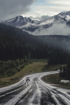drive through the mountains.