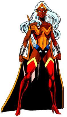 "Wonder Woman / Princess Ororo Of Themyscira ""Wonder Woman"" Amalgam Comics (1996)"