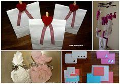 Drachen aus Papier basteln Kite Craft DIY for Kids