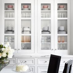 """""""How we like to style kitchen cabinets, as seen on @thedecorista blog. #torontodecor #torontointeriordesign #kitchendesign"""" Photo taken by @thedesignco on Instagram, pinned via the InstaPin iOS App! http://www.instapinapp.com (05/21/2015)"""