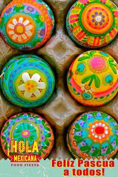 La Santa Pascua no es sólo una fiesta, sino que también representa la paz, la serenidad, la armonía y el amor. Το Άγιο Πάσχα δεν είναι μόνο μια γιορτή, αλλά αντιπροσωπεύει την ειρήνη, τη γαλήνη, την αρμονία και την αγάπη. Καλό Πάσχα σε όλους!¡Hola Mexicana  #Hola #Mexican #Food #Fiesta #En #Salónica [online: http://www.holamexicana.gr/]
