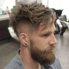An awesome collection of the best beard styles for short beards, medium beards, long beards and everything in between. Showcasing the best beards of the best beard styles. Get ideas to grow your beard for longer or shorter styles. Undercut Hairstyles, Hairstyles Haircuts, Cool Hairstyles, Short Undercut, Hairstyle Ideas, Men Undercut, Hairstyle Men, Hair Ideas, Classic Hairstyles