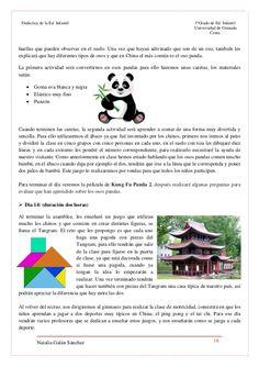 Proyecto de infantil sobre China