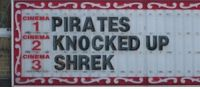via me.me Knock Movie, Fun Fair, Movie Lines, Shrek, Knock Knock, Pirates, Cinema, Memes, Movies