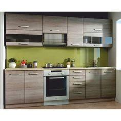 KALEN DTD sonoma tölgy trufla színű konyhabútor 260 cm Kitchen Furniture, Sweet Home, Kitchen Cabinets, Home Decor, Recherche Google, House Ideas, Small Kitchens, Home Decoration, Kitchen Cupboard