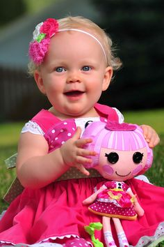 baby lalaloopsy jewel sparkles dress and doll