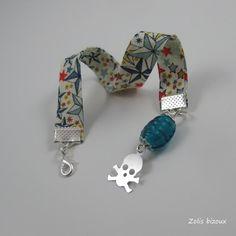 Bracelet tissu Pirate