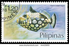Philippines Stamp - Fish
