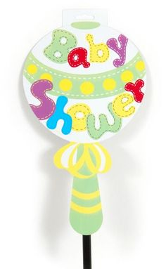 baby shower yellow yard sign Case of 36