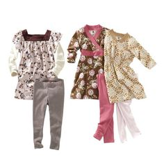 I love that the Tea Collection sells kids clothing in mix and match wardrobe sets.