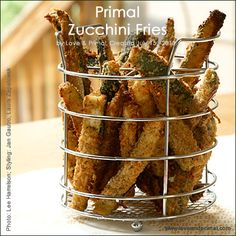 RECIPE: Primal Zucchini Fries - Love and Primal