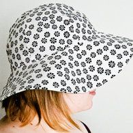 free patter for a sunhat