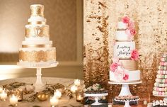 Make a statement with your wedding cake by picking one of these delicious creations for your big day. Take a look and happy pinning!