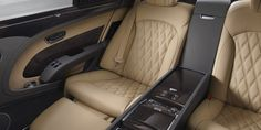 New Mulsanne Extended Wheelbase rear airline seat - extended