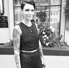 Ruby Rose will be my girl crush forevermore ... she is currently making every woman question their sexuality.