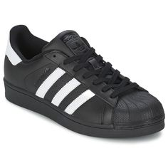 52acf3d5ea7 adidas Originals SUPERSTAR FOUNDATION Branco   Preto Tumblr Outfits