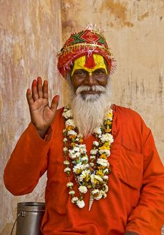Sadhu, Amber Fort, Jaipur, India