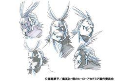 my hero academia anime chara design 04