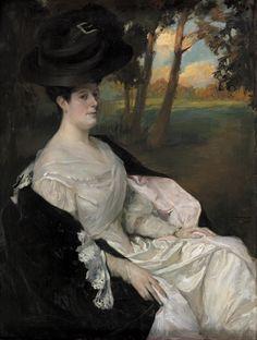 Retrato de la señora de Silvela, Fernando Álvarez de Sotomayor