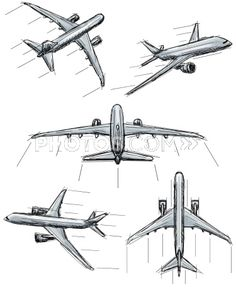 136946117-jet-airplane-sketches-photos-com.jpg (375×458)