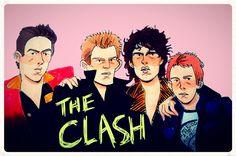 """silveraspensart: """"The Clash for anon """""""