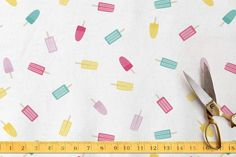 Popsicles Mix Fabric by Tori Bee Design at minted.com