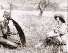Osa Johnson. What a Pioneer for women. Going to many unexplored countries in the 1930's with her photographer husband. Though after reading the book, I Married Adventure, she comes across the more adventurous of the two!