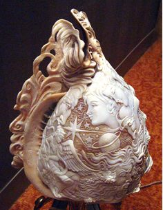 incredible carving - seashell carving #mystical