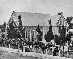 Dutch Reformed church, Newcastle - Wikipedia Church Building, Newcastle, South Africa, Dutch, Buildings, Past, Painting, Past Tense, Dutch Language