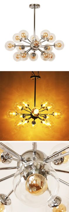LOVE this for any room in the house! Sputnik Chandelier | dotandbo.com