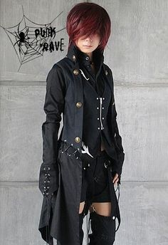 Punk Visual Kera Dolly Gothic Lolita Jacket Coat Y183 | eBay