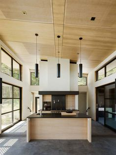 Feldman Architecture Designs a Spacious Country Home in Healdsburg, California
