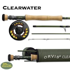 Orvis Clearwater 763-4 Rod Make delicate, precision presentations with this 3 weight fly rod. #FCOTampa #Flyfishing #Orvis