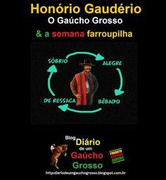 Diário de um Gaúcho Grosso: HONÓRIO GAUDÉRIO O GAUCHO GROSSO E A SEMANA…