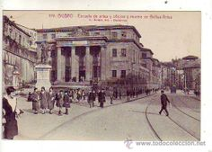 Escuela de artes y oficios , primer Hospital de Bilbao