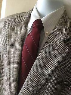 Brooks Brothers Men's Wool/Silk/Linen Sport Coat Jacket Blazer Made Italy Sz 44L