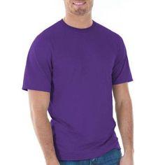 Gildan Mens Classic Short Sleeve T-Shirt, Men's, Size: Small, Purple