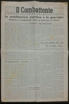 Il Combattente - Giornale dei volontari della liberta' - Edizione Piemontese - N. 18 Gennaio 1945