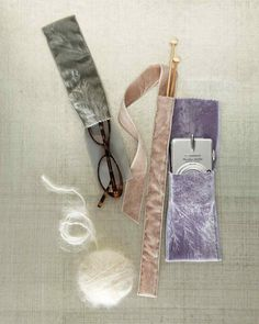 12 Thoughtful Mother's Day Gifts for Grandma | Martha Stewart Living - These sleek, silky-smooth velvet pouches are perfect for everything she carries on the go. Easily sewn from ribbon and thread, they're made for glasses, knitting needles, or a camera.