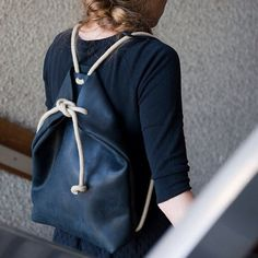 minimal rucksack off black by chrisvanveghel on Etsy