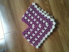 Baby crochet poncho