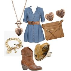 """""""Country Cowgirl"""" by terradoe on Polyvore"""
