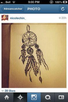 dream catcher tattoo picture ideas   Dream catcher tattoo idea