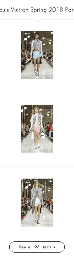 """""""Louis Vuitton Spring 2018 Paris"""" by watereverysunday ❤ liked on Polyvore featuring paris, louisvuitton, spring2018, ss2018, text, logo, words, brands, backgrounds and fillers"""