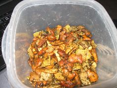 Steve's Often Copied, Never Duplicated, Furikake Chex Mix